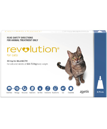 Revolution for Cats 5-15lb (Blue, 2.6-7.5kg)
