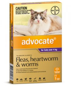 Advocate for Large Cats 9-18lb (Purple, 4-8kg)