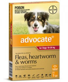 Advocate for Large Dogs 20-55lb (Red, 10-25kg)