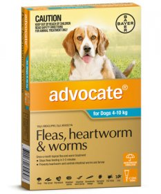 Advocate for Medium Dogs 9-20lb (Aqua, 4-10kg)