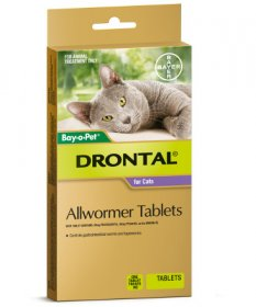 Drontal Allwormer for Cats and Kittens