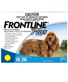 Frontline Plus for Dogs 23-44lb (Blue, 11-20kg)