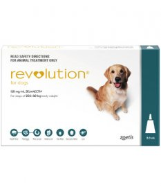 Revolution for Dogs 40-85lb (Green, 20-40kg)