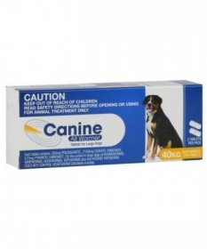 Canine Allwormer Tablets for Dogs 88lb (40kg)