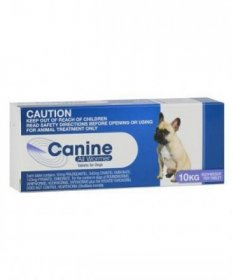 Canine Allwormer Tablets for Dogs 22lb (10kg)
